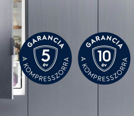 Electrolux 5-10 év garancia kompresszorra
